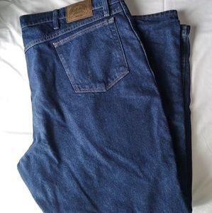 Flannel lined Cabela jeans